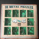 10 metal puzzles